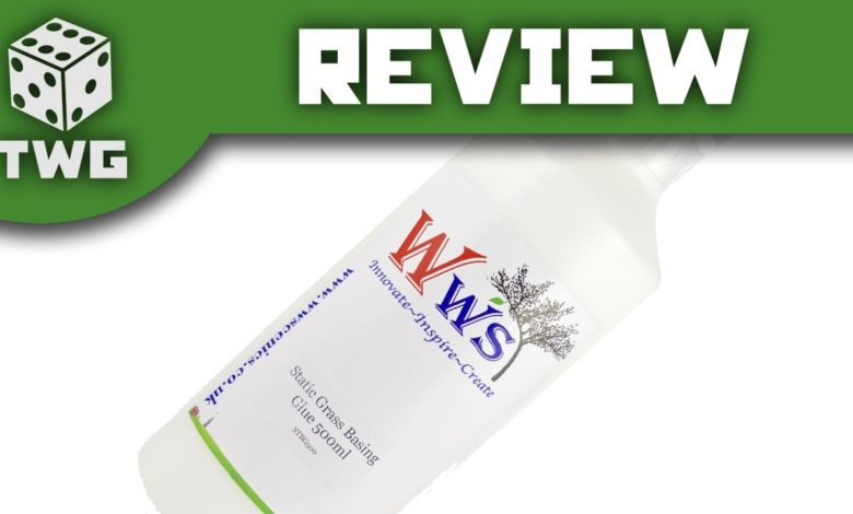 Twg Review Static Grass Basing Glue