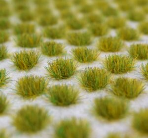 100 Peel and Stick Self Adhesive TuftsVibrant ColoursStrong Tacky AdhesiveRealistic Styled GrassEasy To Apply100 x Spring Grass Self Adhesive Static Grass Tufts 4mm. Just peel off backing paper and place where required.