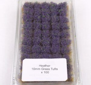 Battle Ground 10mm Grass Tufts Heather Self Adhesive