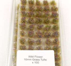 Battle Ground 10mm Grass Tufts Wild Flower Self Adhesive