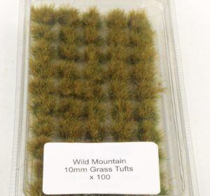 Battle Ground 10mm Grass Tufts Wild Mountain Self Adhesive 100