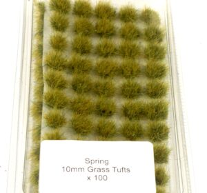 Battle Ground 10mm Grass Tufts Self Adhesive 100 per box