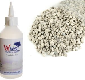 Large Grade Light Grey Ballast & Track Ballast Glue 1