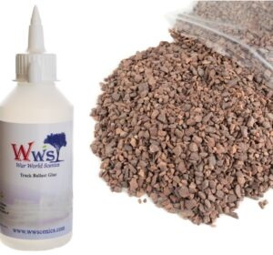 Medium Grade Red Ballast & Track Ballast Glue 1