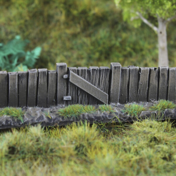 Wooden Fence & Gate 7