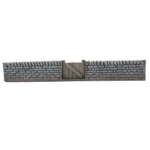 Yorkshire Stone Wall & Gate 2