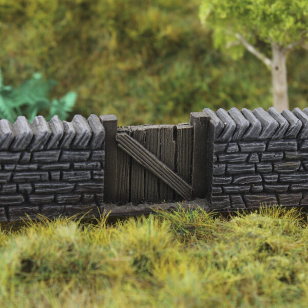 Yorkshire Stone Wall & Gate 7