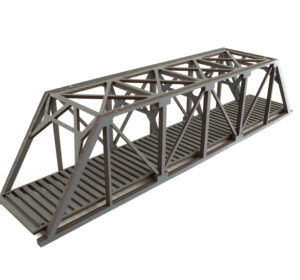Single Grey Railroad Girder 1