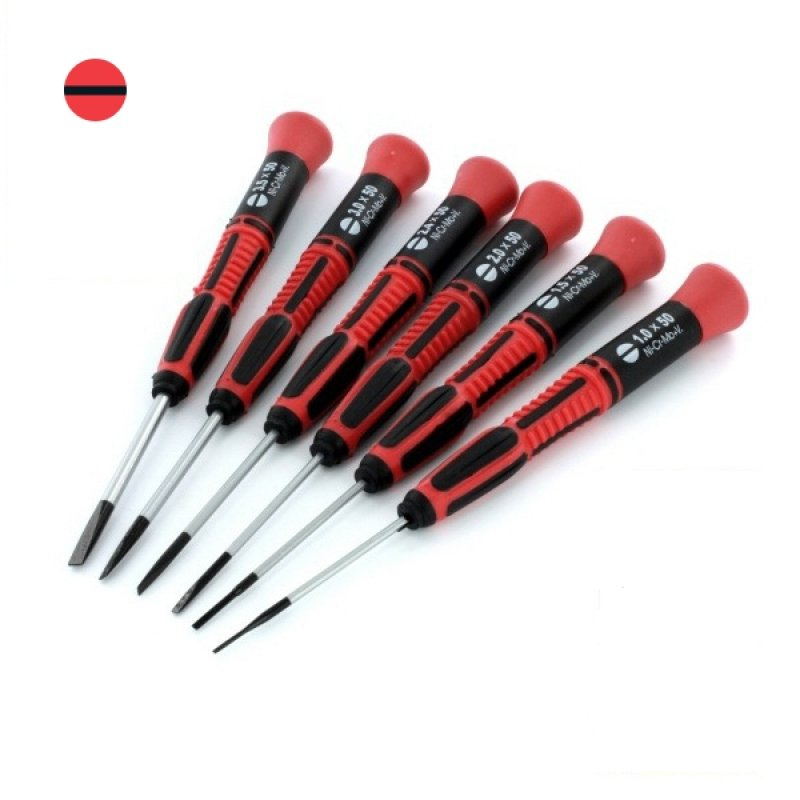 53.set Of 6 Slotted Blade Screwdrivers 1