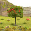 Apple Tree With Red Fruits Mid Green 2
