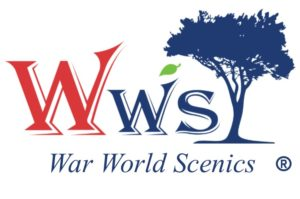 High Quality War World Scenics Logo