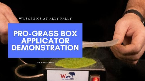 Pro Grass Box Applicator Demonstration