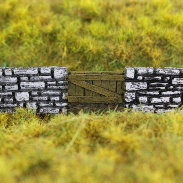 Farm Stone Wall & Gate 7