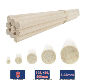 Balsa Wood Dowels Var 01