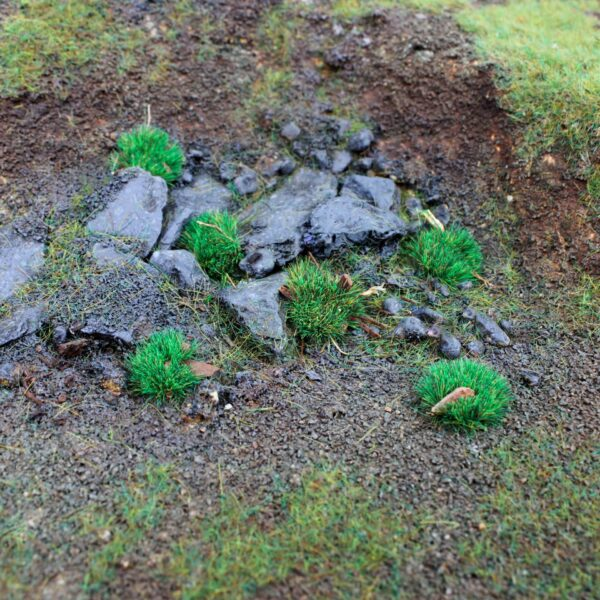 Forest Ground Cover 4mm Static Grass Tufts 4
