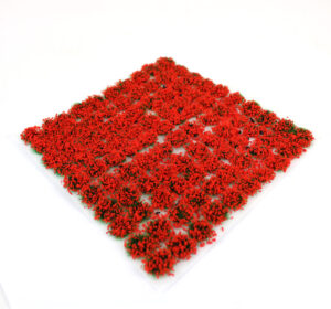 Poppy 4mm Static Grass Tufts 2