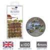 Woodland Flowers 4mm Static Grass Tufts 1