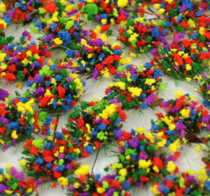 Woodland Flowers 4mm Static Grass Tufts 3