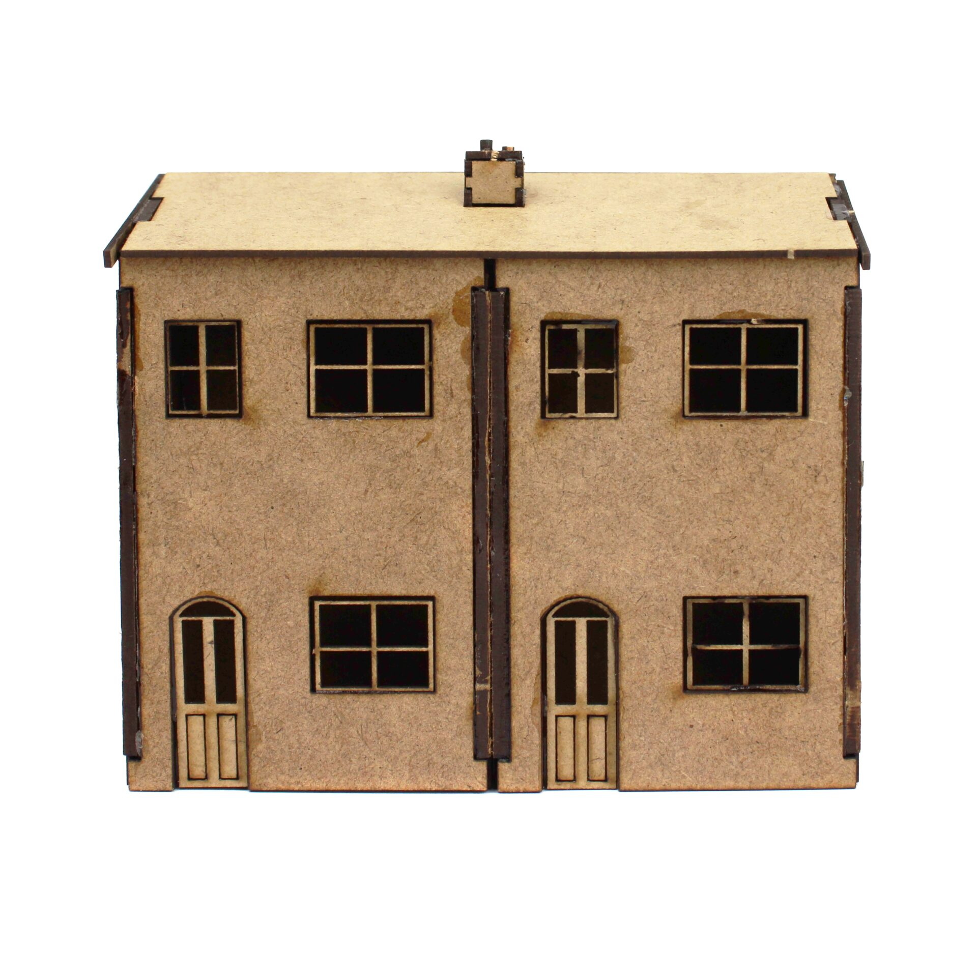 Double House Front X1 2