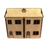 Double House Front X1 5