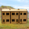 Triple House Front X1 7