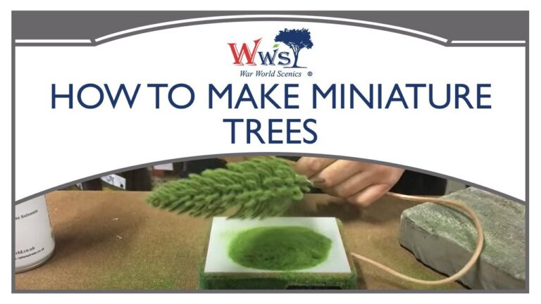 How To Make Trees Using The Pro Grass Box
